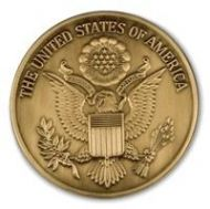 Great Seal Service Medallion