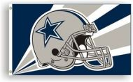 3' X 5' Dallas Cowboys Helmet Flag