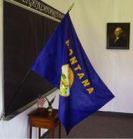 2' X 3' Montana Classroom Flag