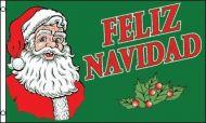 Feliz Navidad Flag