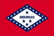 Economy Printed Arkansas State Flags