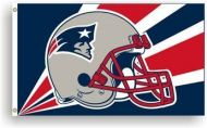 3' X 5' New England Patriots Helmet Flag