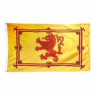 Scottish Rampant Lion Flags