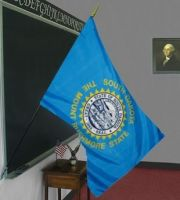 2' X 3' South Dakota Classroom Flag