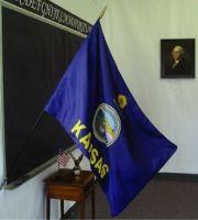 2' X 3' Kansas Classroom Flag