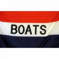 Lightweight Poly Boats Flag