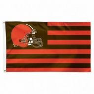 Cleveland Browns Americana Flag