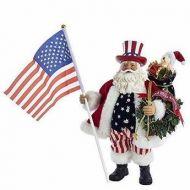Fabriche Patriotic Americana Musical Santa