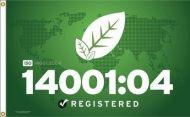 ISO 14001:04 Flag