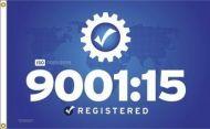 ISO 9001:15 Flag