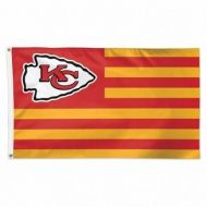 Kansas City Chiefs Americana Flag