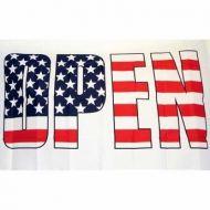 Lightweight Poly Open USA Flag