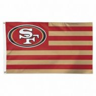 San Francisco 49ers Americana Flag