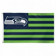 Seattle Seahawks Americana Flag