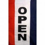Lightweight Poly Vertical Open Flag