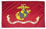 3' X 5' Mil-Tex Military-Grade Marine Corps Flag