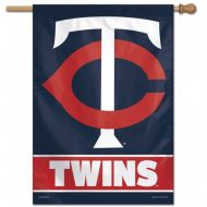 Minnesota Twins Vertical Flag