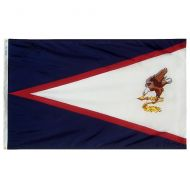 12 X 18 IN Nylon American Samoa Flag