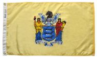 12 X 18 Inch Nylon New Jersey State Flag