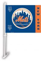 NY Mets Car Flag
