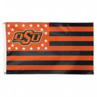 3'x5' Deluxe Oklahoma State University Stars and Stripes Flag