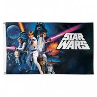 Star Wars / Original Trilogy Deluxe Collage Flag