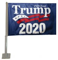 President Trump 2020 Car Flag