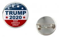 Trump 2020 KAG Glass Pin