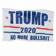 Trump 2020 No More BS Flag