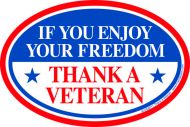 Thank A Veteran Magnet