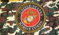 3' X 5' Camouflage USMC Flag