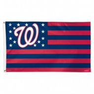 Washington Nationals Stars and Stripes Flag