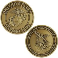 Marine Corps Coin: Saint Michael - Warrior Patron Saint
