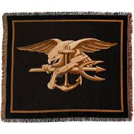 Navy Special Warfare Seal Throw Blanket
