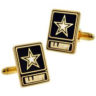 U.S. Army Star Logo Cufflink Set