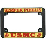 USMC Motorcycle License Plate Frame