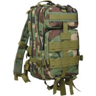 Woodland Camo Military MOLLE Compatible Medium Transport Pack