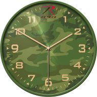 Woodland Camouflage Military Wall Clock