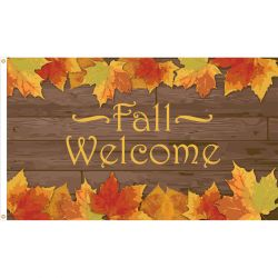 Welcome Fall Flag - 3 ft X 5 ft