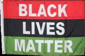 Black Lives Matter African Movement Flag - 2 ft X 3 ft