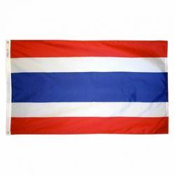 Nylon Thailand Flag - 2 ft X 3 ft