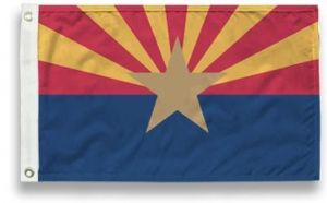 State-Tex Commercial Grade Arizona State Flag - 3 ft X 5 ft