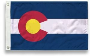 State-Tex Commercial Grade Colorado State Flag - 3 ft X 5 ft