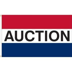 Premium Nylon Auction Flag