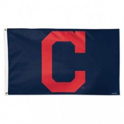 Deluxe Cleveland Indians Flag - 3 ft X 5 ft