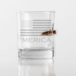'Merica Bulletproof Rocks Glasses