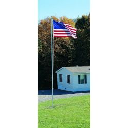 Aluminum Flagpole - 20 ft