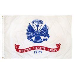 Nylon Army Flag - 6 ft X 10 ft