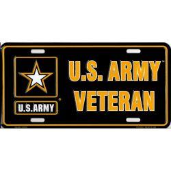 U.S. Army Veteran License Plate
