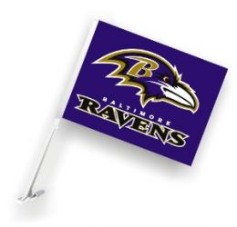 Baltimore Ravens - Car Flag